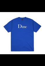 Dime Classic Logo T-Shirt - Cobalt
