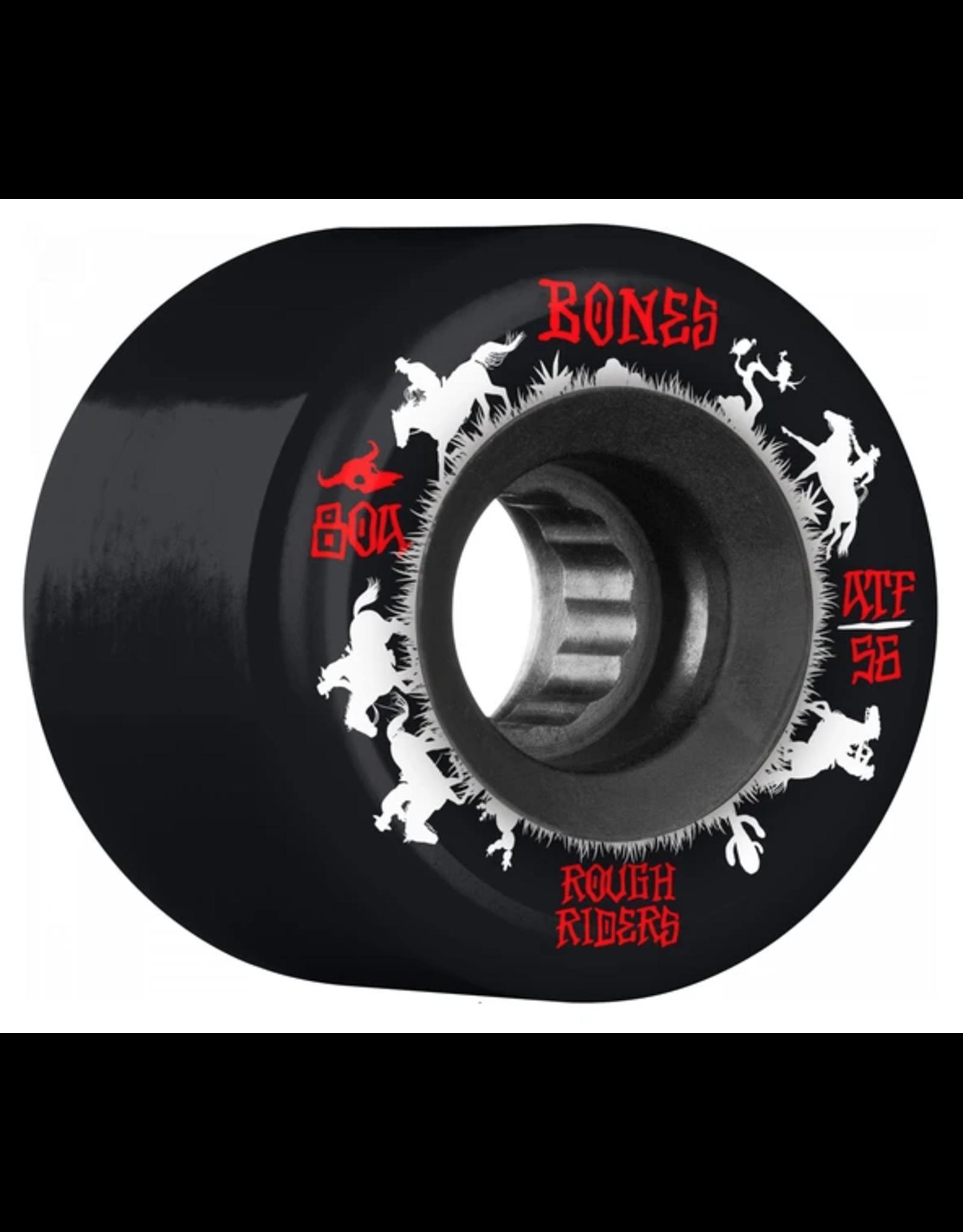 Bones ATF Rough Rider Wranglers Wheels 80A - 56mm