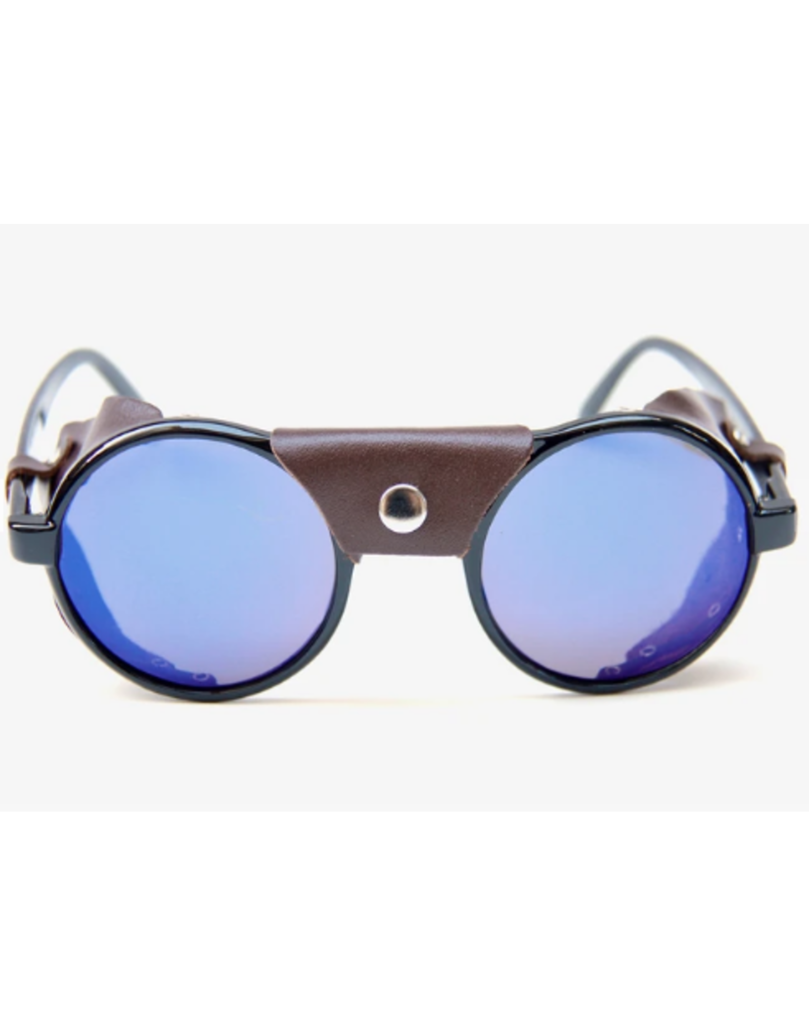 Happy Hour Dusters Sunglasses - Black/Brown Leather