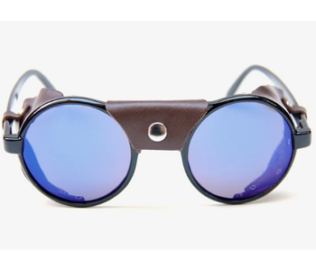 Dusters Sunglasses - Black/Brown Leather