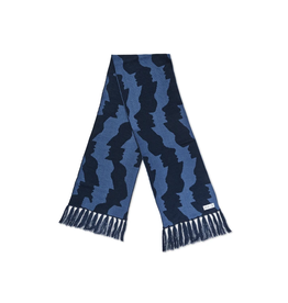 Polar Faces Scarf - Blue
