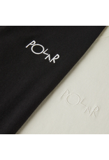 Polar Script Tee - Black