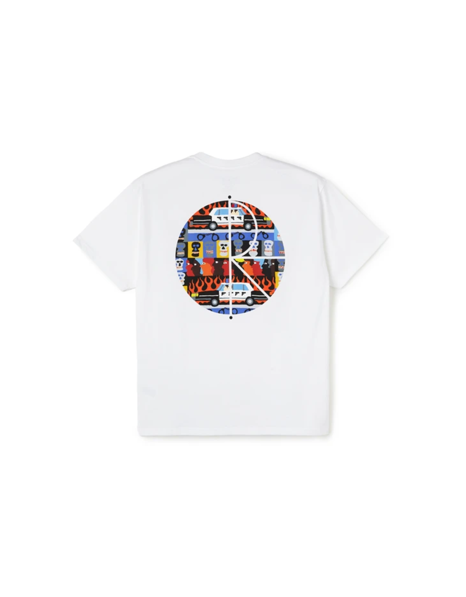 Polar ACAB Fill Logo Tee - White