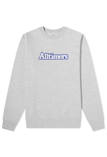 Alltimers Embroidered Broadway Crew - Heather Grey