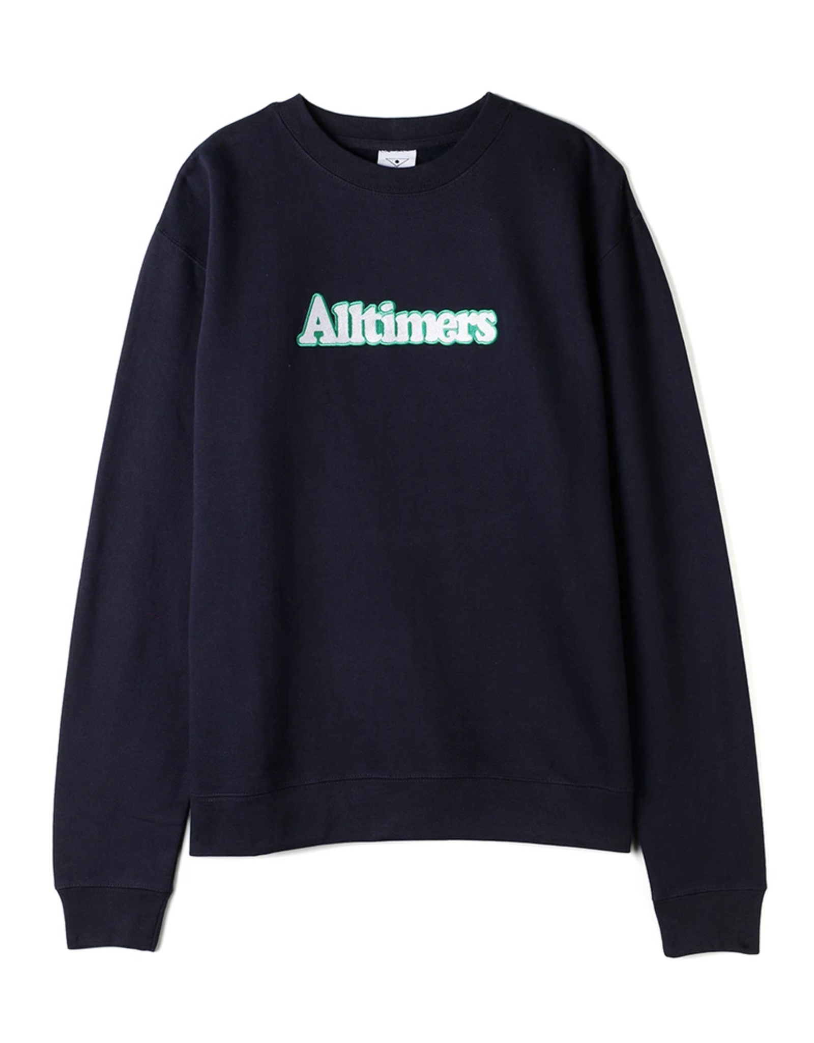 Alltimers Embroidered Broadway Crew - Navy