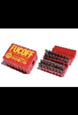 ScumCo&Sons Fucoff Skatestop Removal Kit - Red