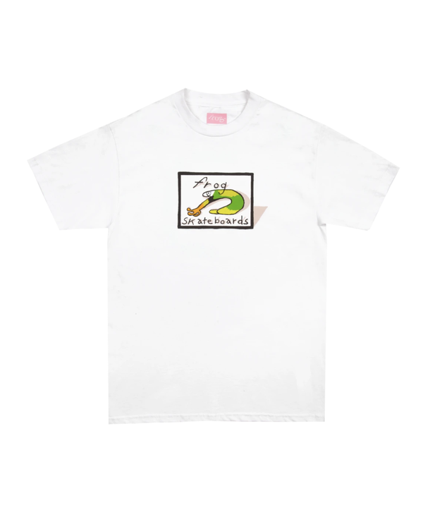 Classic Frog Logo Tee - White