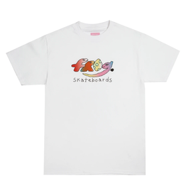 Frog Original Dino Logo Tee - White