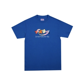 Frog Original Dino Logo Tee - Royal Blue