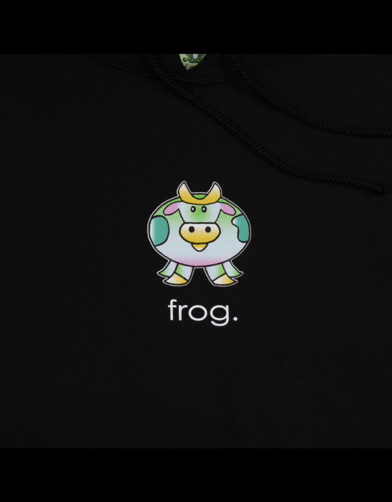 Frog Cow Hoodie - Black
