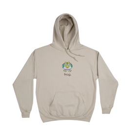 Frog Cow Hoodie - Sand