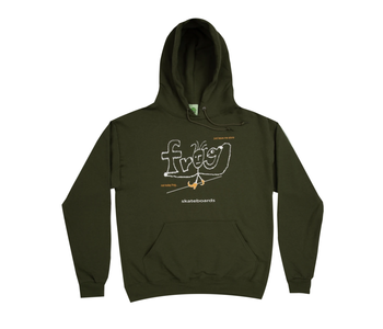 Evil Anxiety Hoodie - Army Green