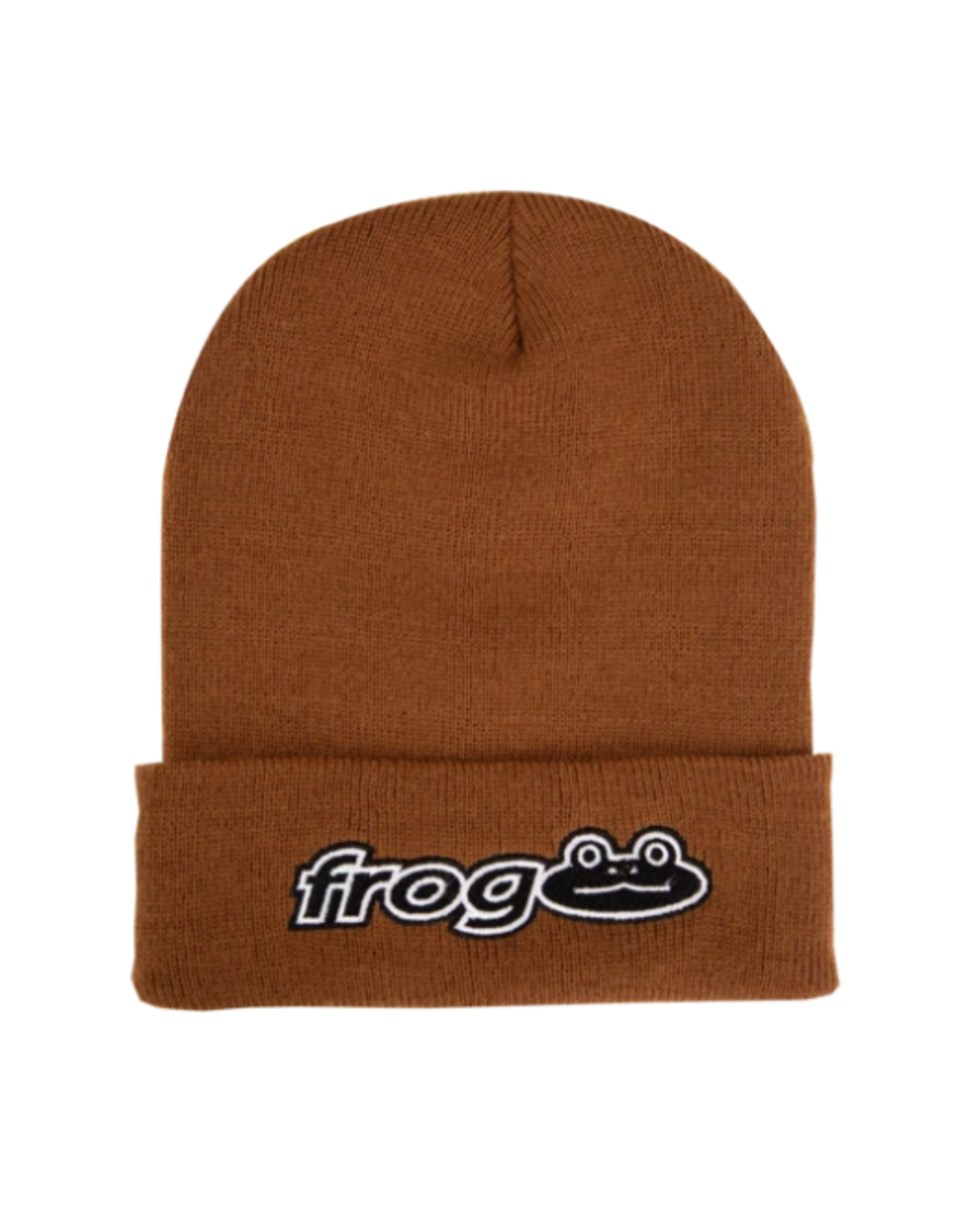 Frog Works Beanie - Caramel