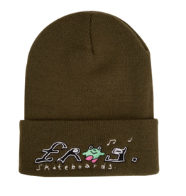 Frog Happy Frog Beanie - Olive