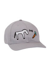 Frog Horse Hat - Silver