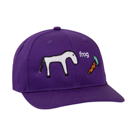 Frog Horse Hat - Purple