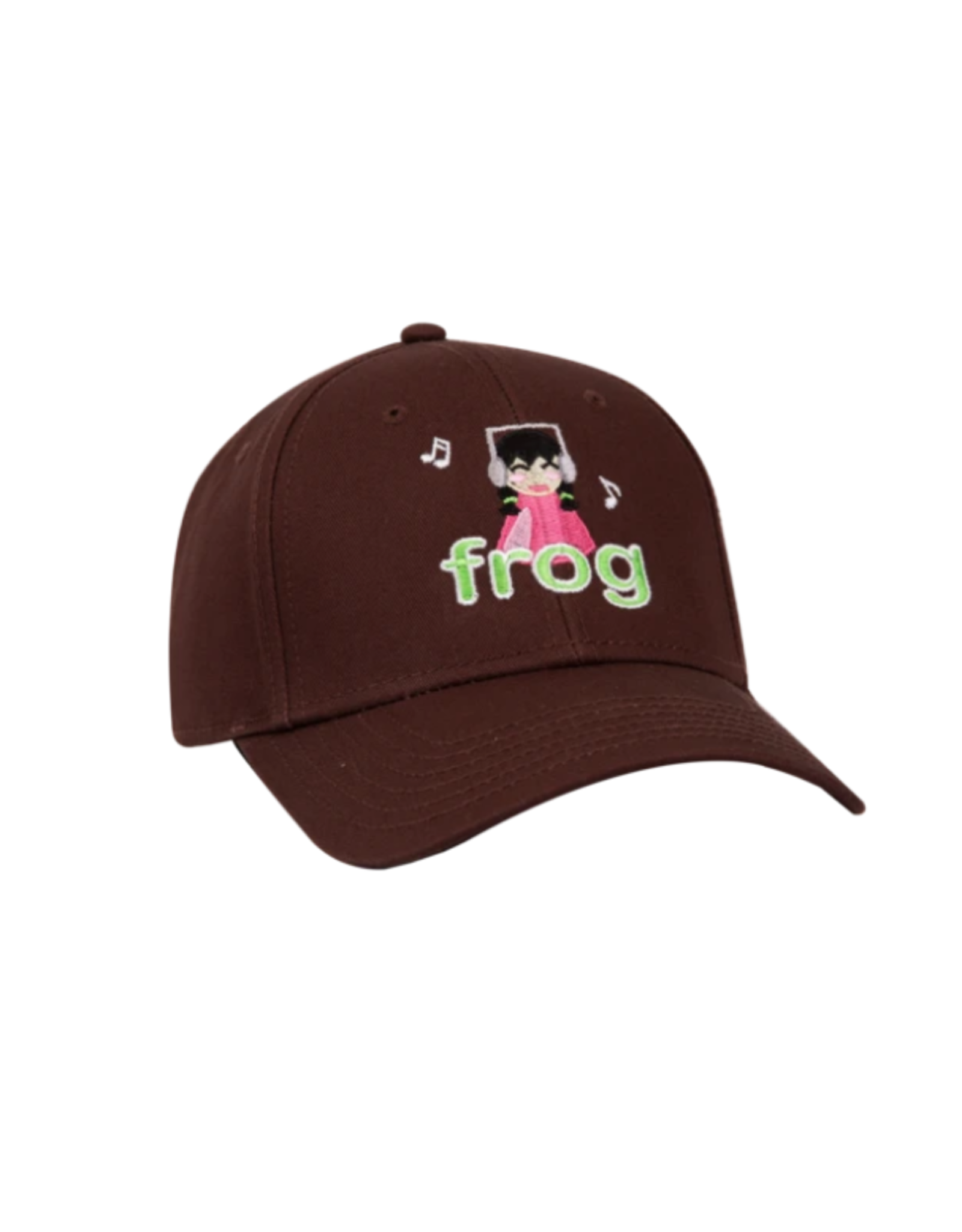 Frog I'm Not Listening Hat - Brown