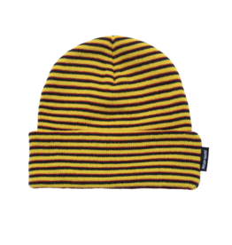 Fucking Awesome Copy of Striped Cuff Beanie - Neon Green/Black