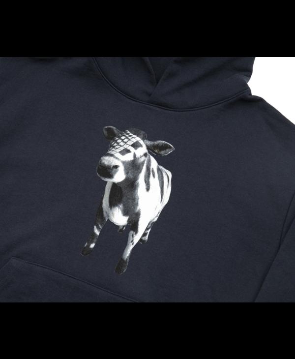 Cow Hoodie - Navy
