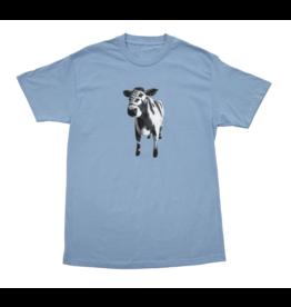 Bronze56K Cow Tee - Carolina Blue