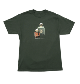 Bronze56K Fragrance Tee - Forest Green