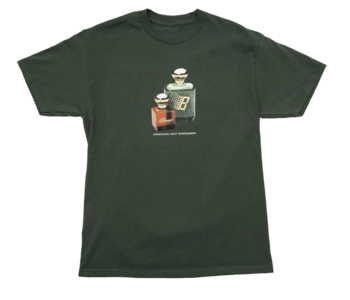 Fragrance Tee - Forest Green