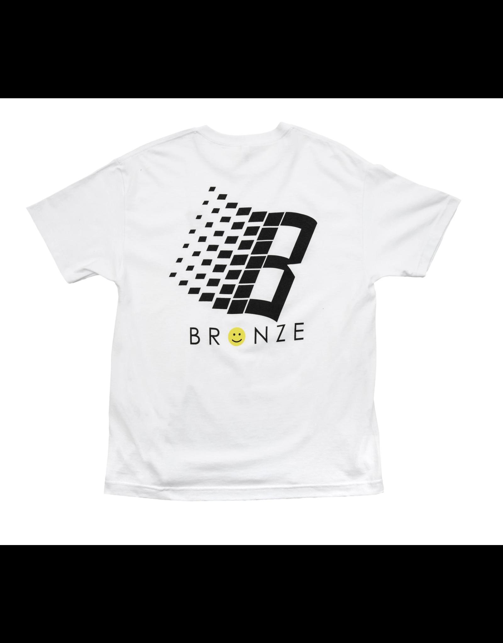 Bronze56K Smiley B Logo Tee - White