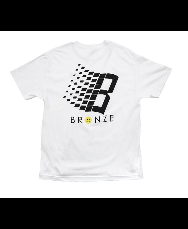 Smiley B Logo Tee - White
