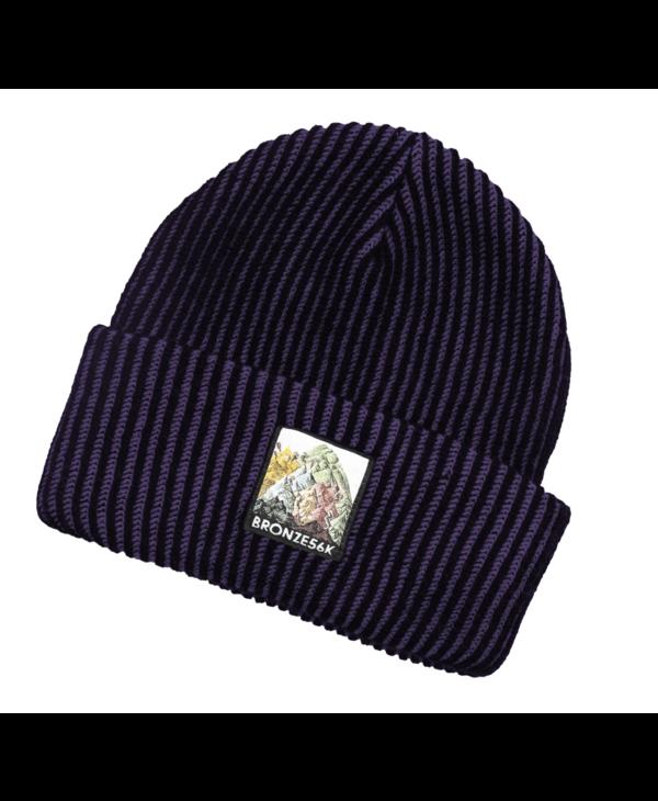 Mountain Beanie - Purple
