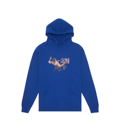 Hockey Ultraviolence Hoodie - Royal Blue