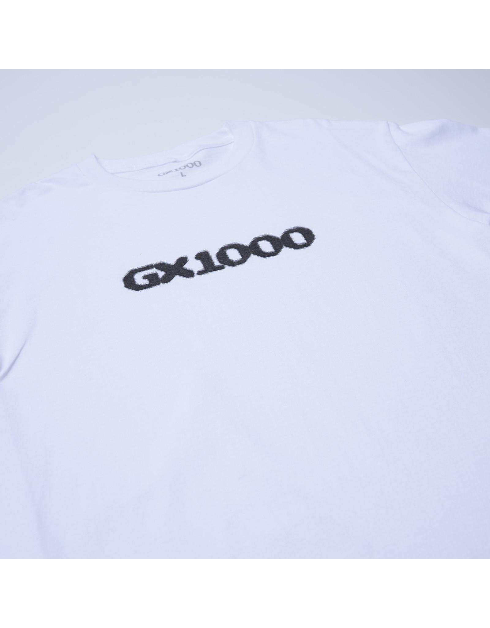 GX1000 Dithered Logo - White