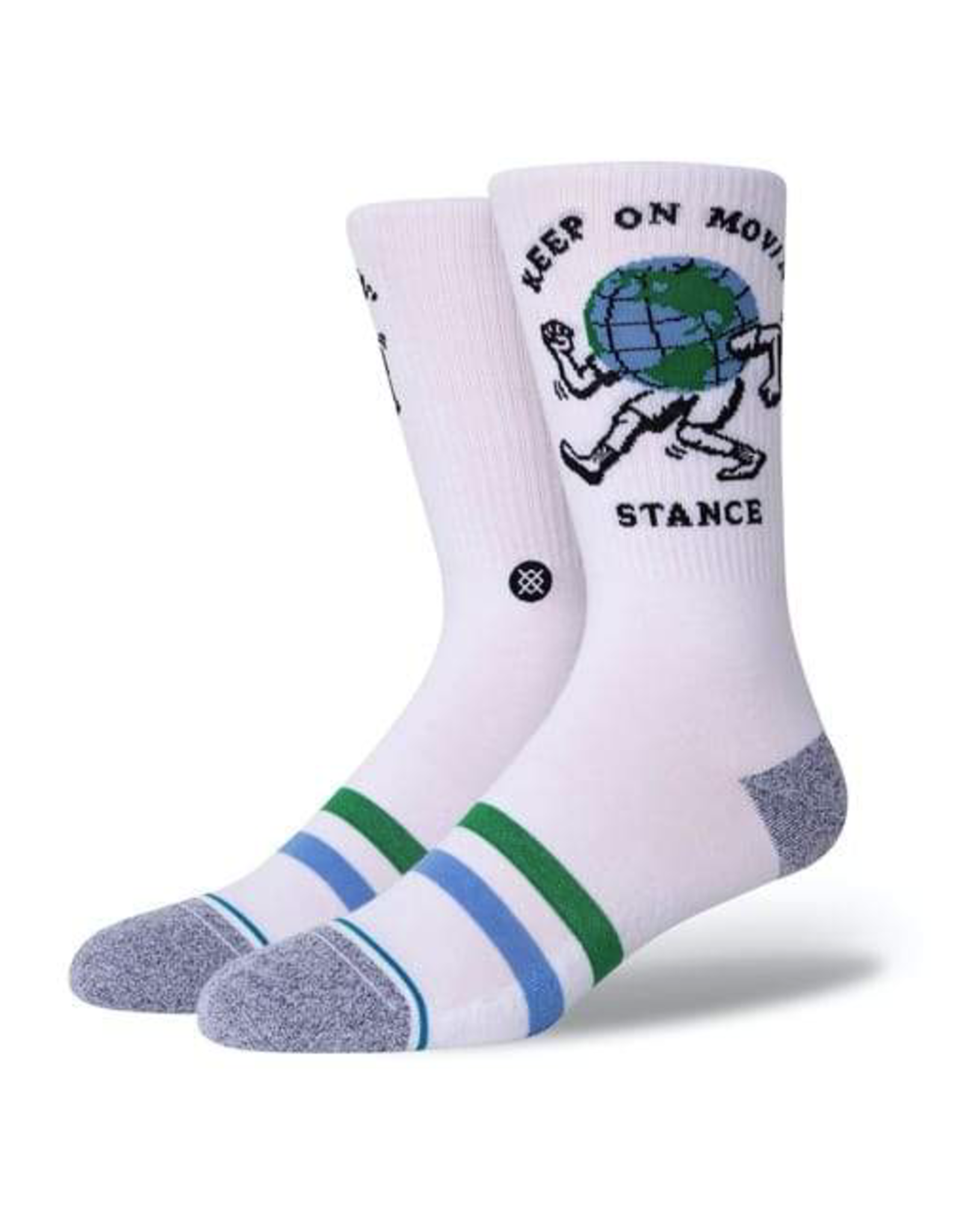 Stance Keep On Movin - White