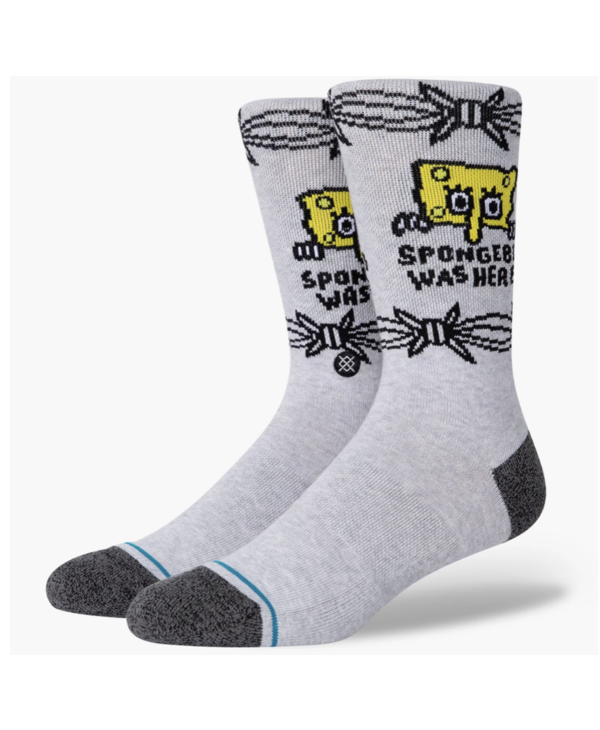 SpongeBob Was Here - Grey