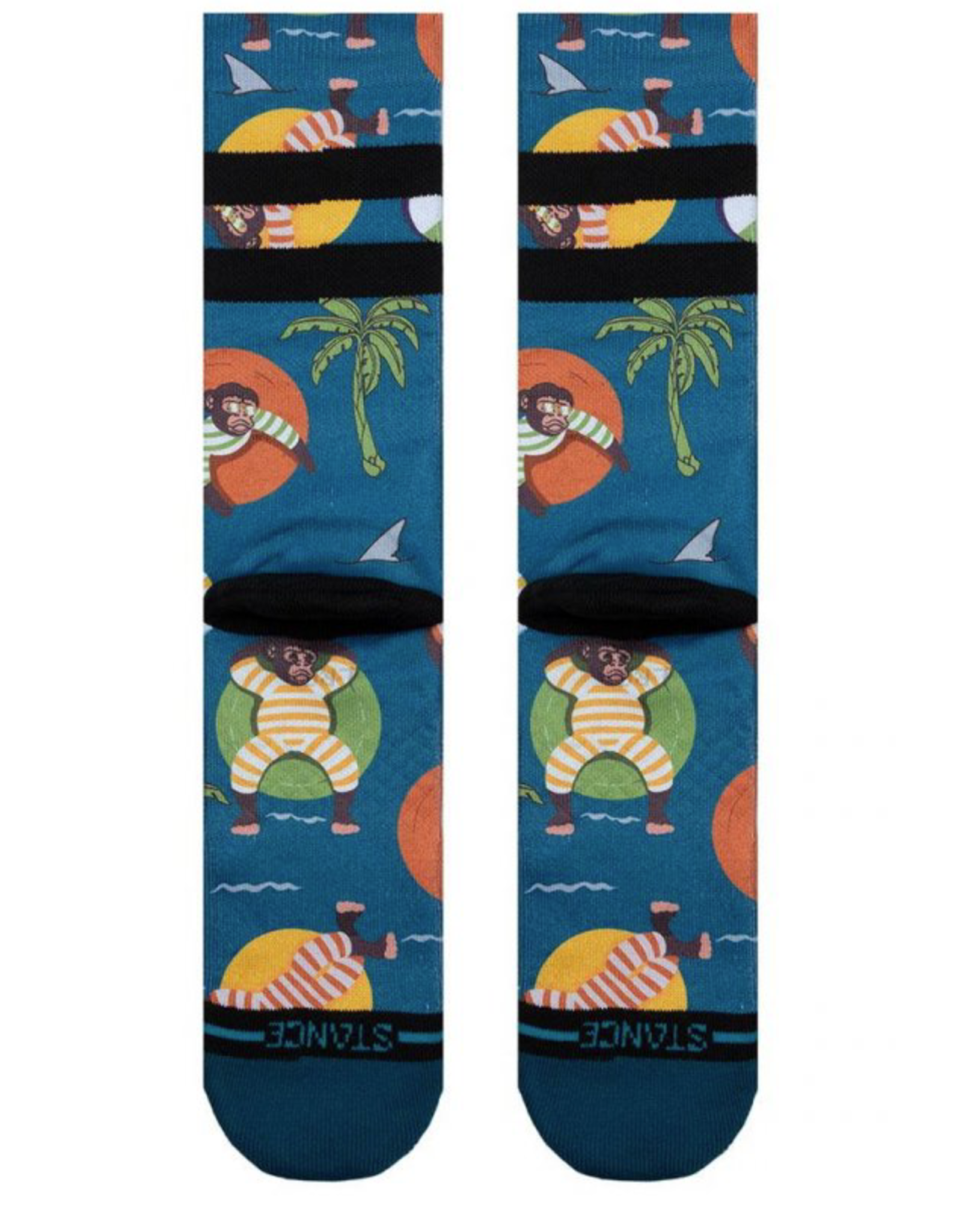 Stance Monkey Chillin - Teal