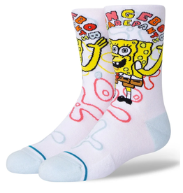 Stance Kids SpongeBob Imagination - White