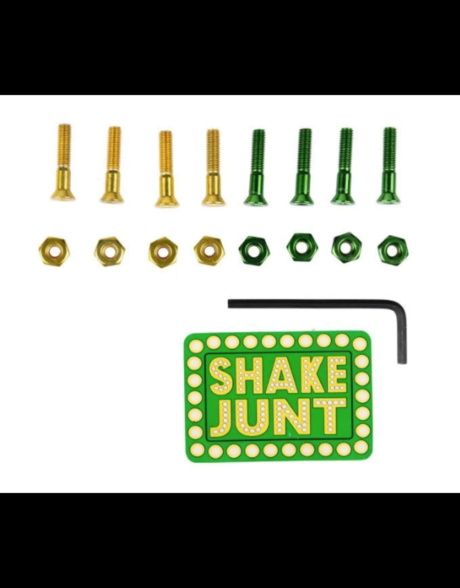 """Shake Junt Bolts Allen 1"""" - Green/Yellow"""