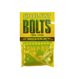 "Shake Junt Bolts Allen 1"" - Green/Yellow"