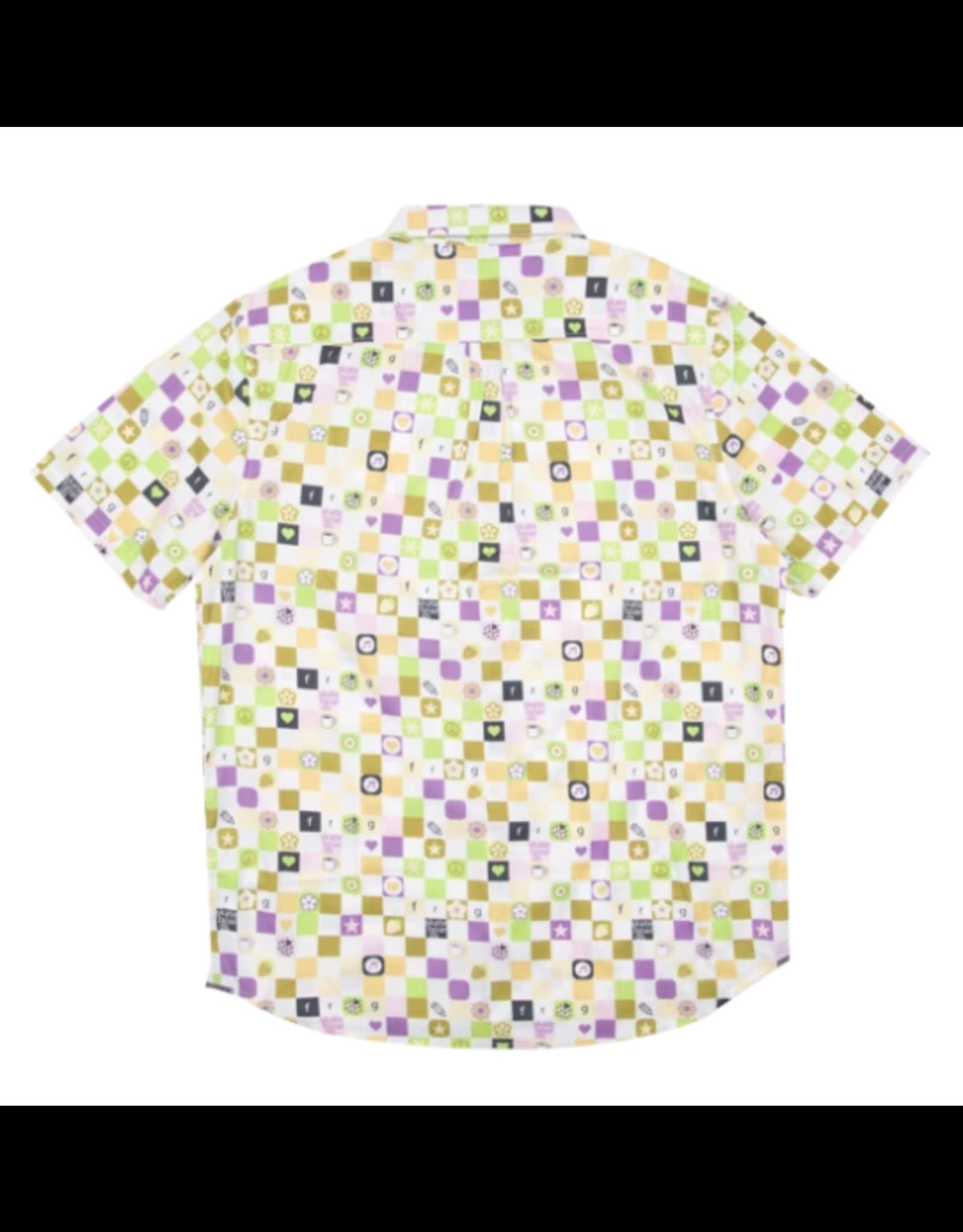 Vans x Frog Skateboards Short Sleeve Button Shirt - White