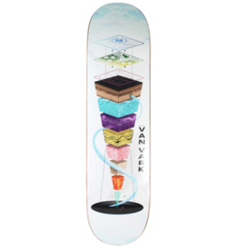 Real Tanner Van Vark One-Off Topography Deck - 8.25''