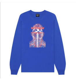 Hockey Nerves L/S Tee - Royal