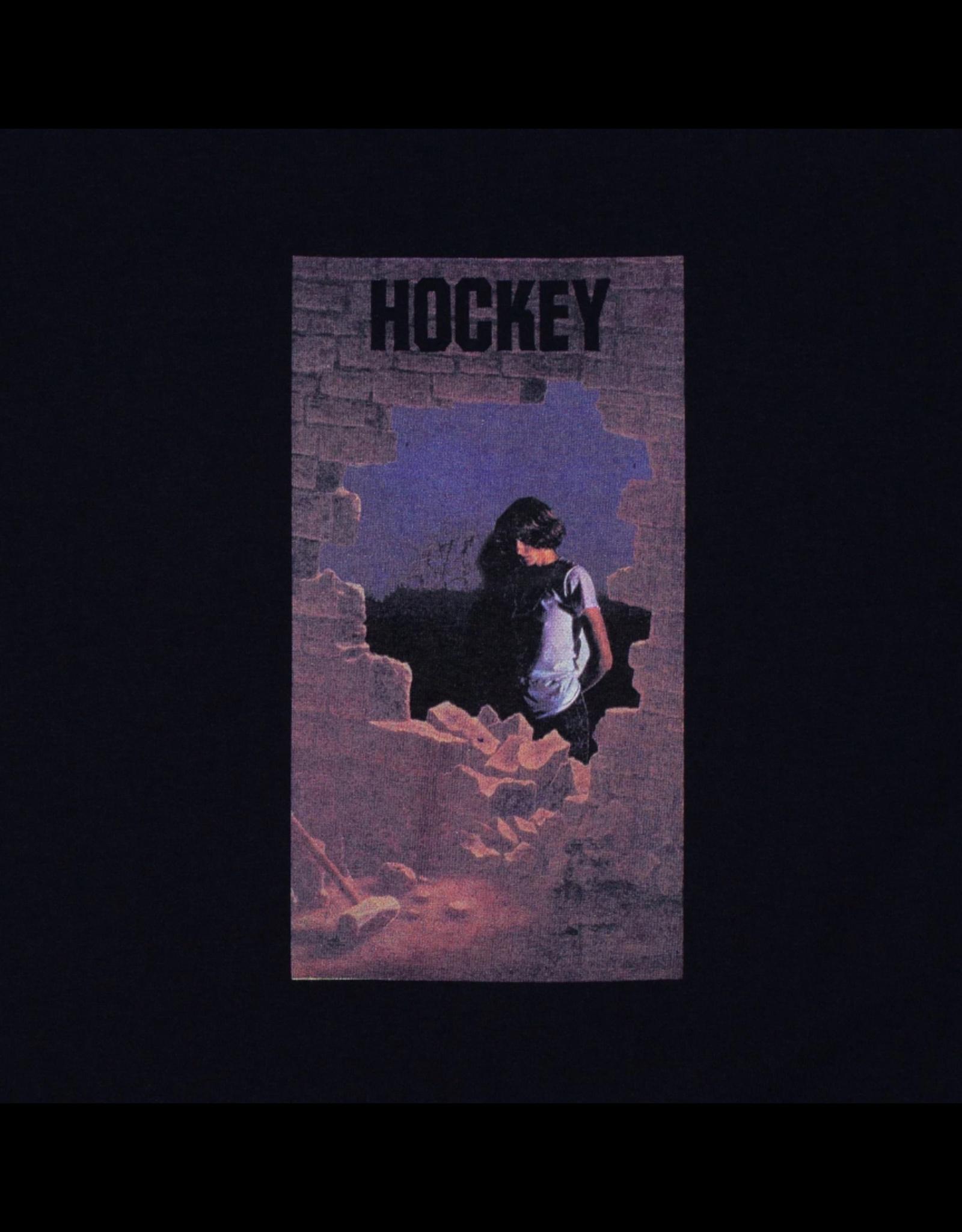 Hockey Dawn Tee - Black