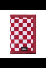 Vans Slipped Wallet - Red Checker