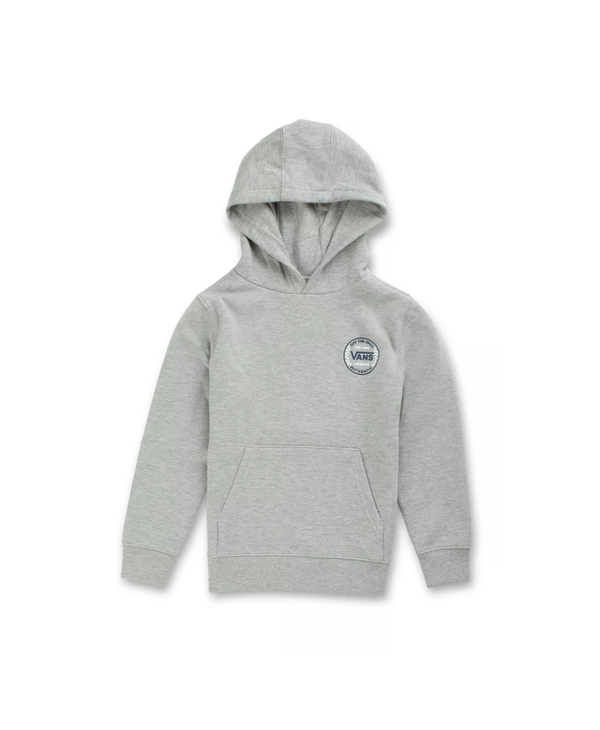 Authentic Checker Hoodie - Cement Heather