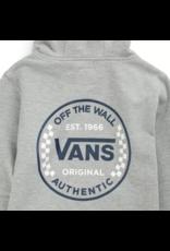 Vans Authentic Checker Hoodie - Cement Heather