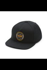 Vans Authentic Checker Snapback - Black