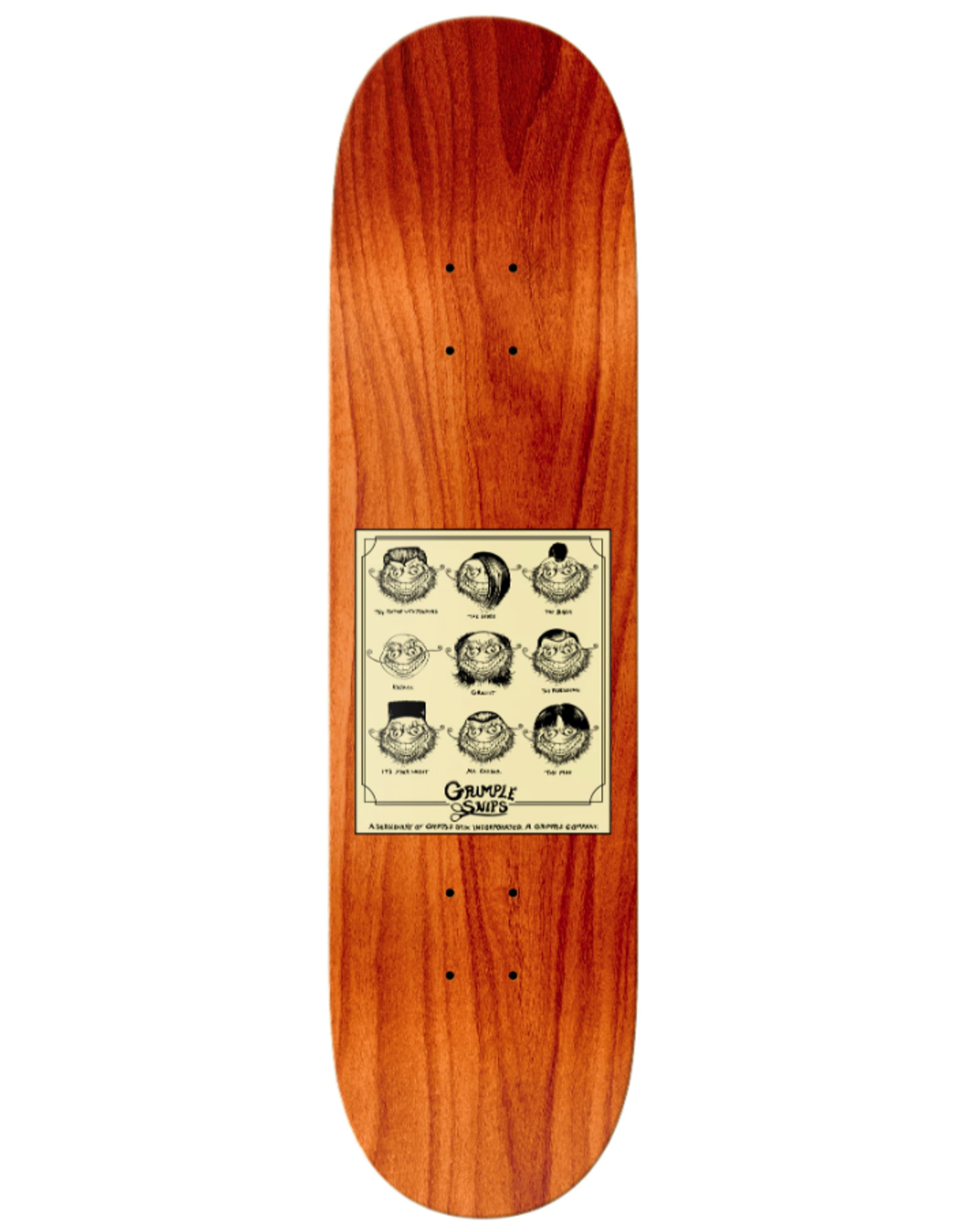 AntiHero Evan Grimple Snips Deck - 8.25''