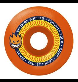 Spitfire Formula Four 99D Tablet Neon Orange - Various Sizes