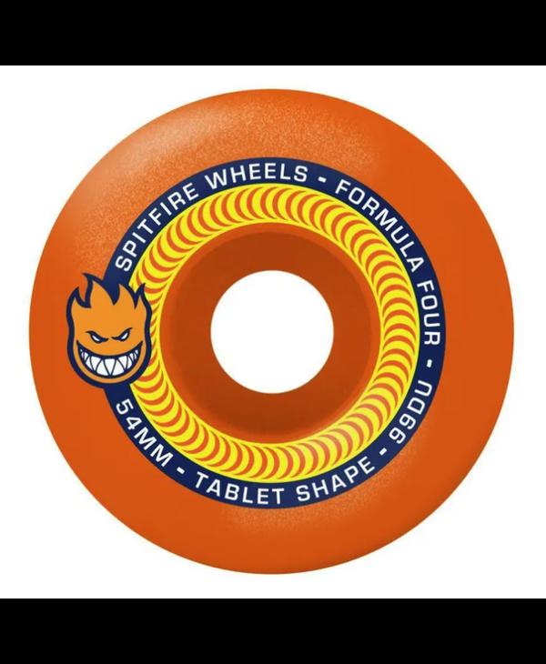 Formula Four 99D Tablet Neon Orange - Various Sizes