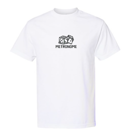 Metronome Dices T-Shirt - White