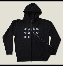 Pagaille MK-Ultra Zip Hoodie - Black